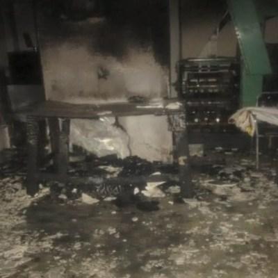 Atacan con bombas molotov instalaciones del periódico 'El Monitor de Parral'