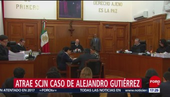 Foto: Atrae SCJN caso Alejandro Gutiérrez, acusado de desviar 250 mdp