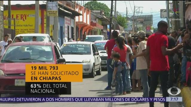 Aumentan solicitudes de refugio en México, la mayoría son de hondureños