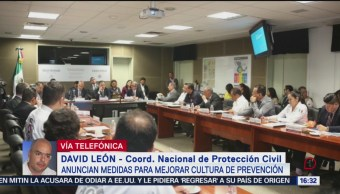 Autoridades llaman a la población a tomar medidas de prevención civil
