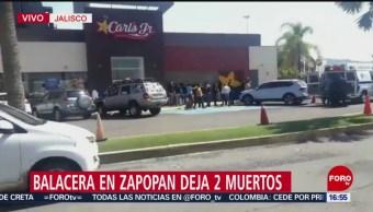 FOTO: Balacera Centro Comercial Zapopan Jalisco Deja 2 Muertos