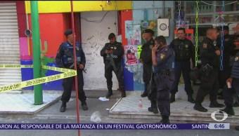 Balacera en Tepito fue enfrentamiento entre bandas rivales