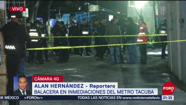 Foto: Balacera por intento de asalto en inmediaciones del Metro Tacuba