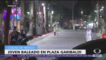 Balean a joven cerca de Plaza Garibaldi, CDMX