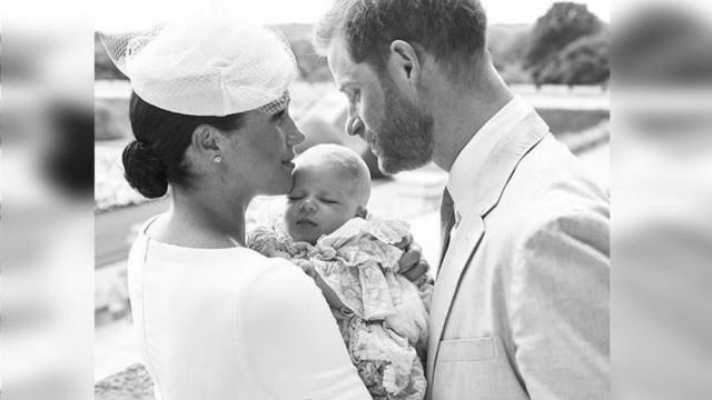 Foto: El príncipe Harry y Meghan, duques de Sussex, bautizaron a su primer hijo, 6 julio 2019