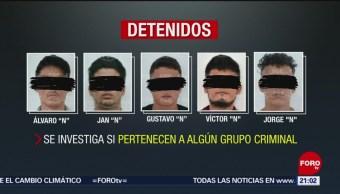 Foto: Caen Secuestro Personas Cancún 3 Julio 2019