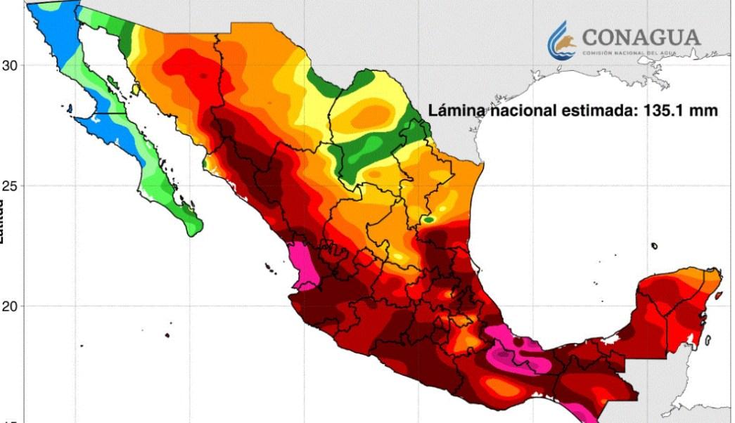 Foto: Las autoridades en Oaxaca estiman que las temperaturas lleguen hasta los 42 grados centígrados, el 11 de julio de 2019 (Twitter, @conagua_clima)