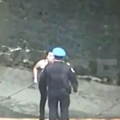 VIDEO: Momento de la captura de mujer que cometió ataque en Plaza Artz