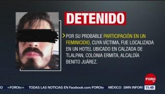 Capturan a presunto feminicida en Veracruz