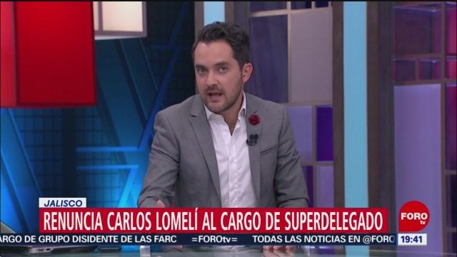 Foto: Carlos Lomelí Renuncia Superdelegado Jalisco 12 Julio 2019