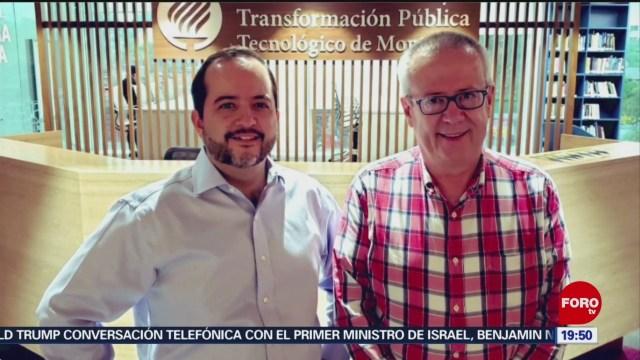 Foto: Carlos Urzúa Académico Tec De Monterrey 11 Julio 2019