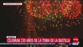 FOTO: Celebran 230 años de la toma de La Bastilla,14 Julio 2019