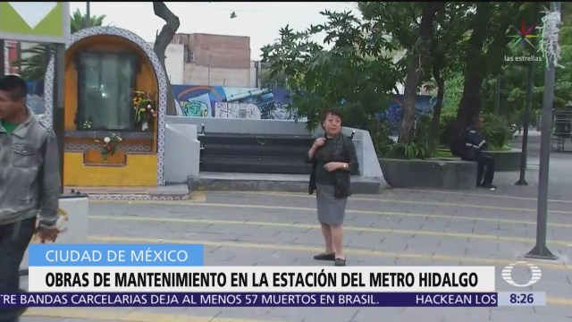 Cierran Metro Hidalgo por obras de mantenimiento