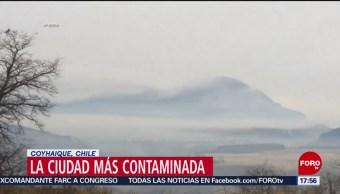 Ciudad en Chile alista programa para reducir contaminación