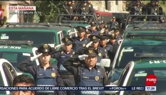 FOTO: Claudia Sheinbaum entrega patrullas nuevas en Milpa Alta, 28 Julio 2019