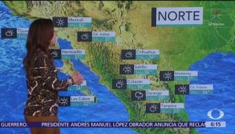 Pronostican viernes lluvioso en la mayor parte de México