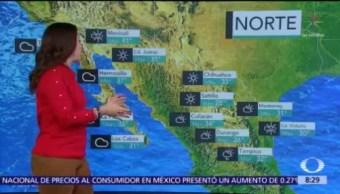 Clima Al Aire: Frente frío 62 genera lluvias