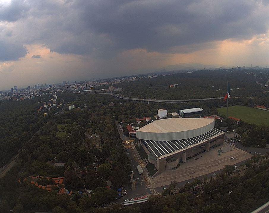 Panoramica de la Ciudad de México, el 24 de julio 2019