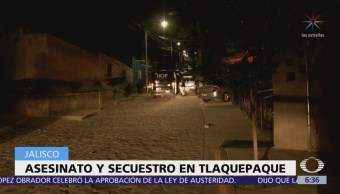 Comando armado secuestra a dos hombres en casa de Tlaquepaque, Jalisco