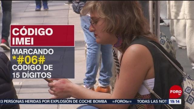Foto: Cómo Bloquear Celular Caso Robo 11 Julio 2019