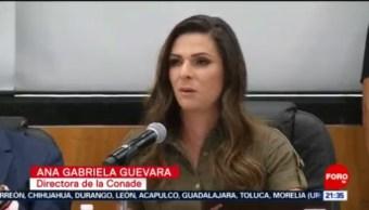 Foto: Comparece Ana Guevara Diputados Comisión Del Deporte 8 Julio 2019