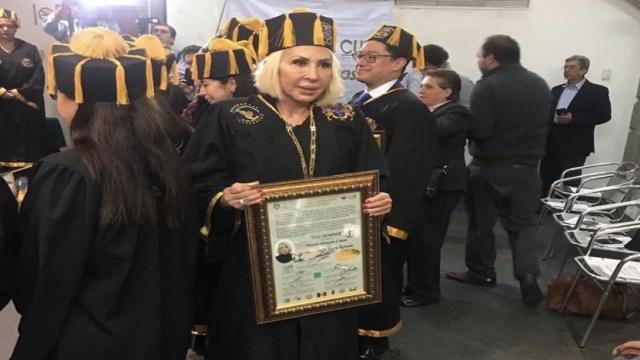 Foto Congreso de CDMX se deslinda de Honoris Causa a Laura Bozzo 31 julio 2019