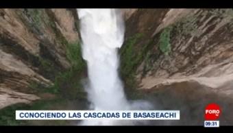 Conociendo las cascadas de Basaseachi