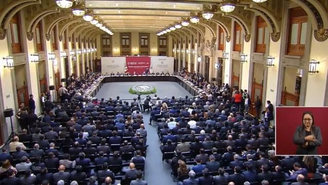 FOTO Alfonso Durazo destaca que sin disciplina, no puede haber instituciones de seguridad (YouTube)