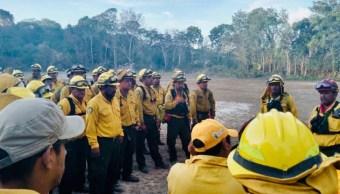 Imagen: En Quintana Roo se han registrado 40 conflagraciones que han destruido 9 mil hectáreas, 27 de julio de 2019 (Twitter @CarlosJoaquin, archivo)