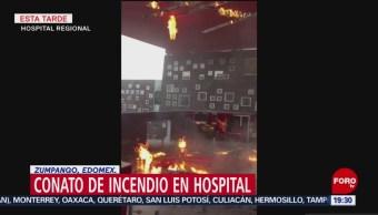 Foto: Incendio hospital Zumpango Edomex1 Julio 2019