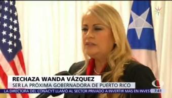 Convocan a protesta contra Wanda Vázquez en Puerto Rico