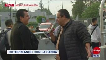 #CotorreandoconlaBanda: 'El Repor' suelto en el metro Buenavista