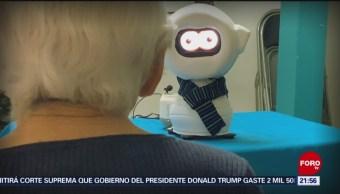 Foto: Crean robot para ayudar personas con alzheimer,
