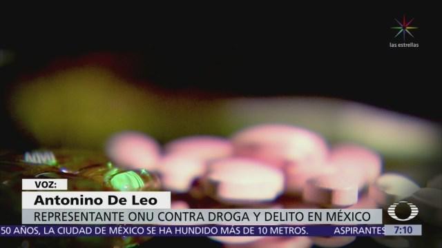 Crece consumo de drogas a nivel mundial