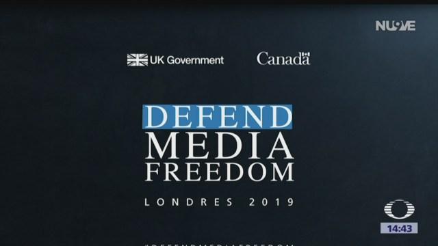 FOTO: Cumbre Global sobre Libertad de Prensa