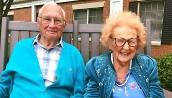 Foto Tienen más de 100 años y decidieron casarse 8 julio 2019