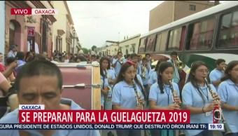 FOTO: Delegaciones desfilan previo a la Guelaguetza 2019, 20 Julio 2019