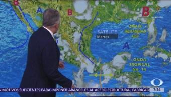 Despierta con Tiempo: Líneas de alta presión favorece el clima en el país