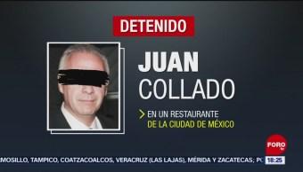 FOTO: Detiene al abogado Juan Collado por lavado de dinero