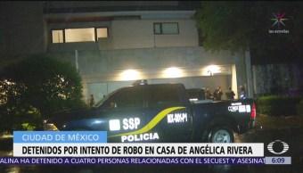 Detienen a dos hombres por intento de robo a casa de Angélica Rivera