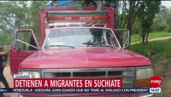 FOTO: Detienen a migrantes en Suchiate, Chiapas, 6 Julio 2019