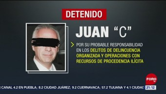 Foto: Detienen Abogado Juan Collado Lavado Dinero 9 julio 2019