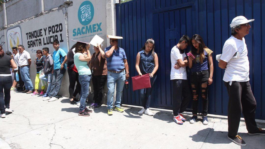 Imagen: Se registraron 310 mil 159 aspirantes, 25 de julio de 2019 (Noticieros Televisa, archivo)