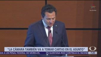 Diputados darán seguimiento a investigaciones contra Emilio Lozoya