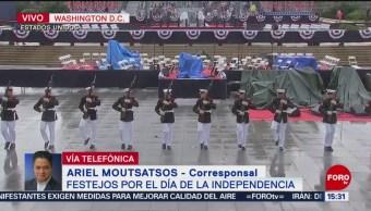 Foto: Donald Trump dará mensaje durante desfile por Día de la Independencia