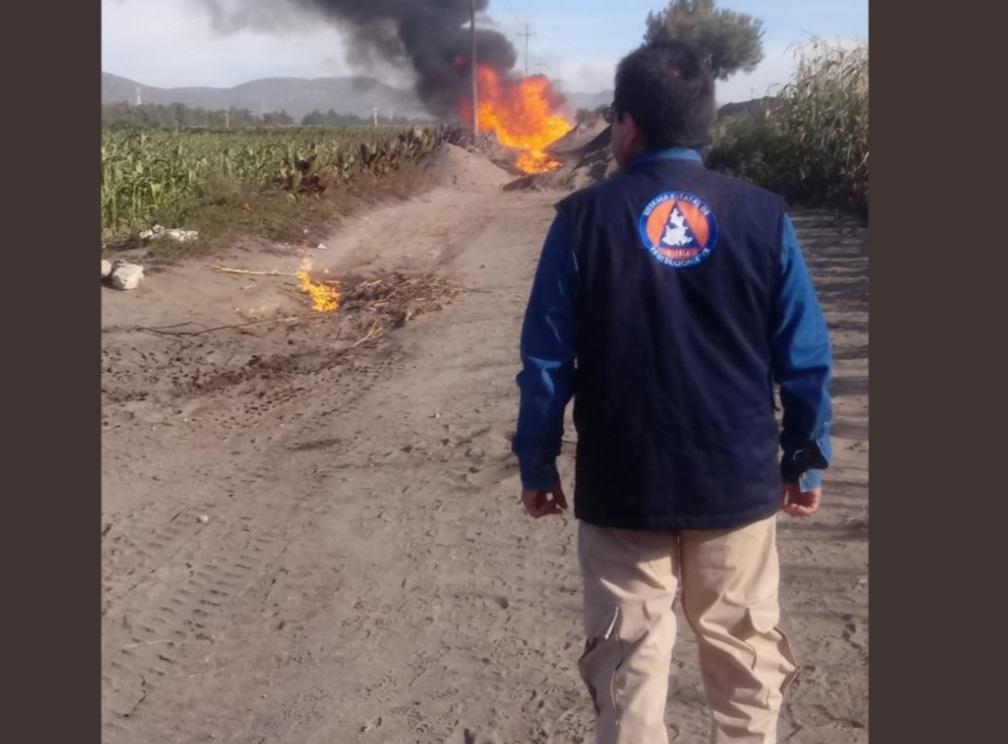 Foto: Autoridades de Seguridad Pública Municipal de Palmar de Bravo, julio 20 de 2019 (Twitter: @ArrobaNoticias)