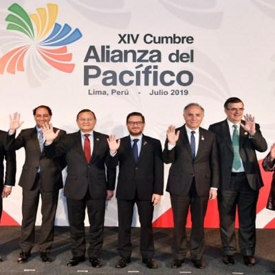 Ebrard y Márquez representarán a México en la XIV Cumbre de la Alianza del Pacífico