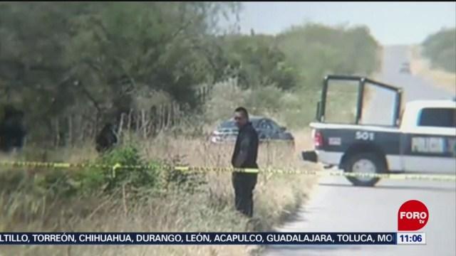 Ejecutan a dos hombres en Cadereyta, Nuevo León