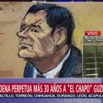 'El Chapo' Guzmán, la última vez que se le verá en público