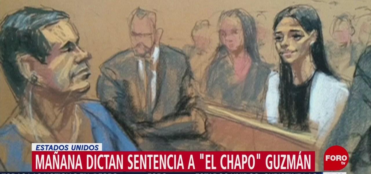 'El Chapo' Guzmán será sentenciado este miércoles
